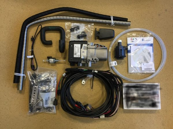 hydronic d5e s3 winstallation kit and easystart pro controller no fuel pick up pipe 2