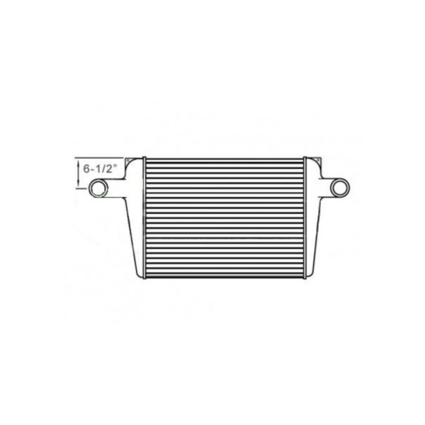 chevygm 6.50 from top of tank to center of neck charge air cooler oem 15029270