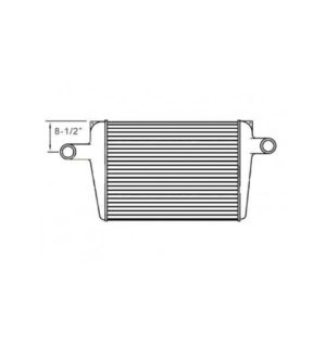 "Chevy/Gm Bluebird Charge Air Cooler 8.50 "" From Top Of Tank To Center Of Neck Charge Air Cooler OEM: 1030187"