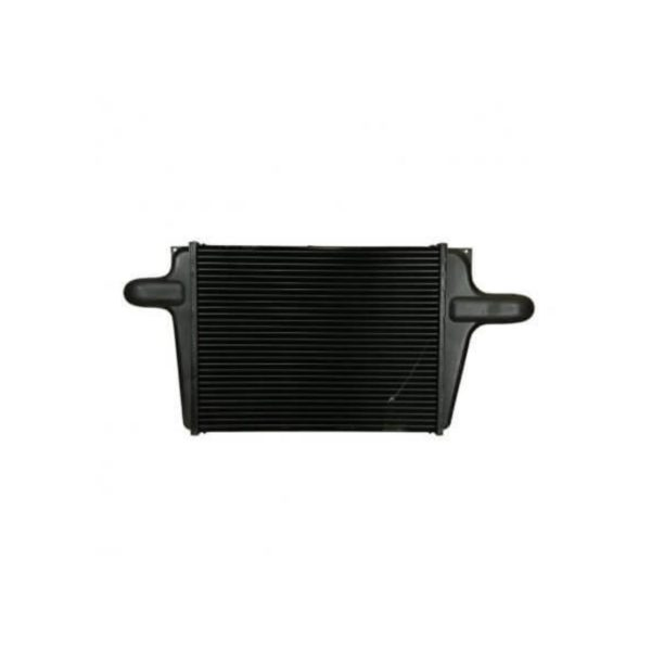 chevygm bluebird charge air cooler 8.50 from top of tank to center of neck charge air cooler oem 1030187 4