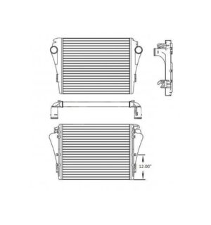 Freightliner M2, Mm & 106 Business Models 08-13 Charge Air Cooler OEM: A0525424013