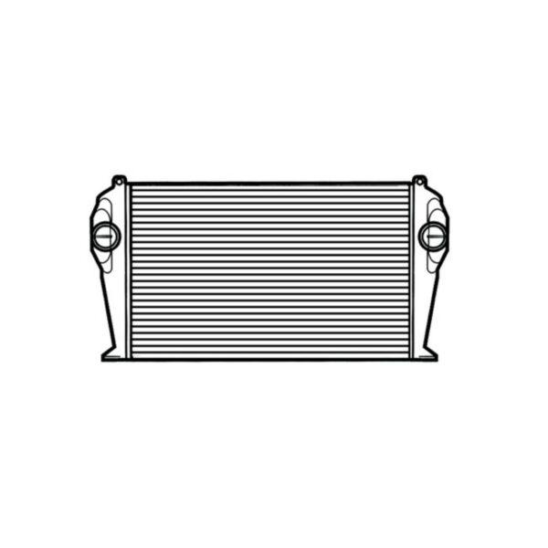 international 2002 7400 series charge air cooler oem 2586044c1