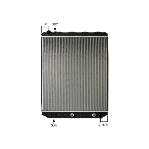 volvo mack vn series 08 14 radiator oem 20956552 2